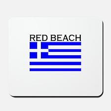 Red Beach, Greece Mousepad