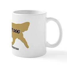 golden retriever therapy dog Small Mug
