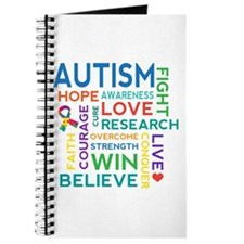 Autism Word Cloud Journal