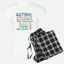 Autism Word Cloud Pajamas