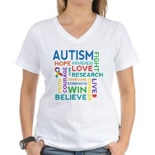 Autism Word Cloud Shirt