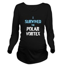 I survived the polar Long Sleeve Maternity T-Shirt