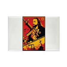 Strk3 Republican Jesus Rectangle Magnet