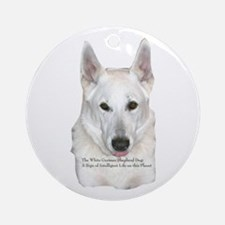 Sign of Intelligent Life Ornament (Round)