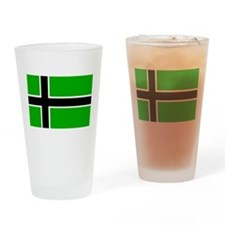 Vinland Flag.png Drinking Glass
