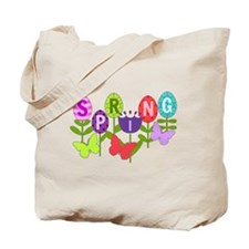 spring eggs Tote Bag