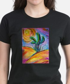 Saguaro cactus, colorful art. T-Shirt