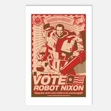 all hail robot nixon Postcards (Package of 8)