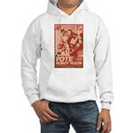 all hail robot nixon Hooded Sweatshirt