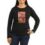 all hail robot nixon Women's Long Sleeve Dark T-Sh