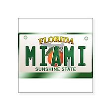 """""""MIAMI"""" Florida License Plate Sticker"""