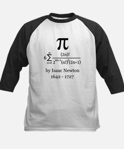 Pi by Sir Isaac Newton Baseball Jersey
