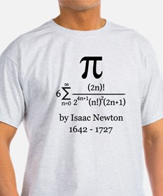 Pi by Sir Isaac Newton T-Shirt