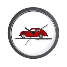 Volvo PV544 Wall Clock