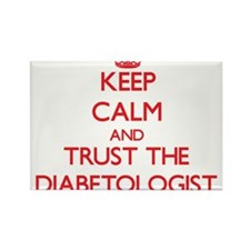 Keep Calm and Trust the Diabetologist Magnets