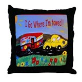 Camp pillow Throw Pillows
