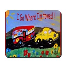 Camper Trailer  Mousepad