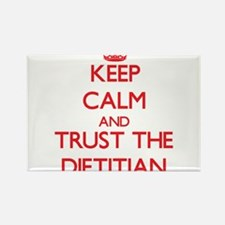 Keep Calm and Trust the Dietitian Magnets