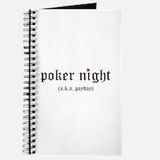 Poker Night Journal