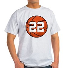 Basketball Player Number 22 T-Shirt