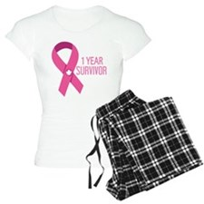1 Year Breast Cancer Surviv Pajamas