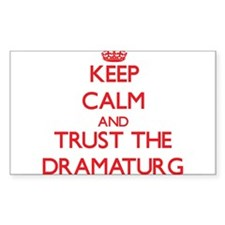 Keep Calm and Trust the Dramaturg Decal
