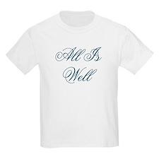 All Is Well Design #437 Kids T-Shirt
