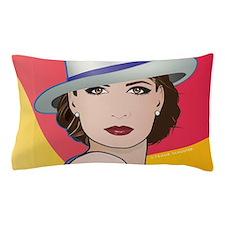 Pop Art Woman Ingrid Pillow Case
