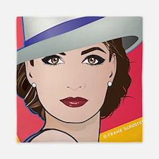 Pop Art Woman Ingrid Queen Duvet