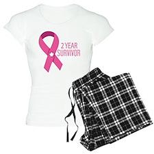 2 Year Breast Cancer Survivor Pajamas