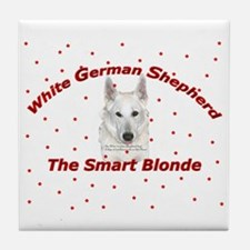 The Smart Blonde Tile Coaster