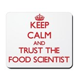 Food scientist keep calm Mouse Pads