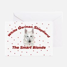 The Smart Blonde Greeting Cards (Pk of 10)