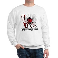 Ray of hearts Sweatshirt