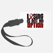Losing Is Not Option Amyloidosis Luggage Tag