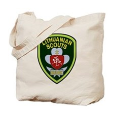lithuanian scout Tote Bag