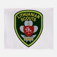 lithuanian scout Throw Blanket