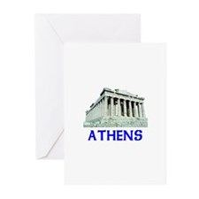 Athens, Greece Greeting Cards (Pk of 10)