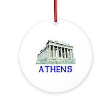 Athens, Greece Ornament (Round)