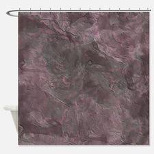 Vintage Purple Shower Curtain