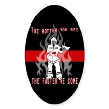 Firefighter Decal Decal