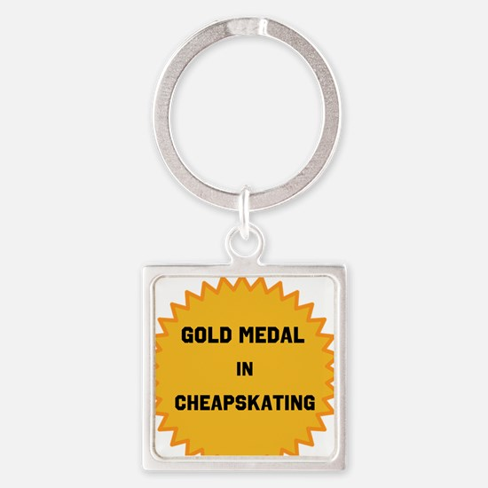 Gold Medal in Cheapskating Keychains