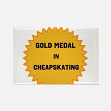 Gold Medal in Cheapskating Magnets