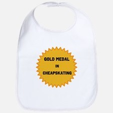 Gold Medal in Cheapskating Bib