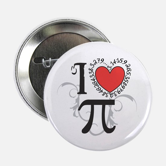 """I Heart Pi 2.25&Quot; 2.25"""" Button (10 Pack)"""