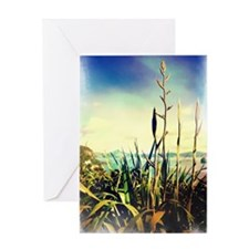 flax 4 Greeting Cards