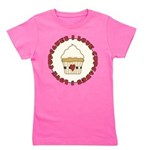 I Love Cupcakes Girl's Tee