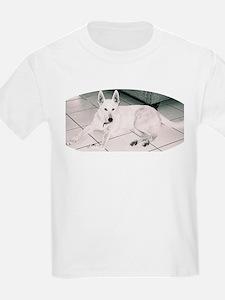 White German Shepherd Dog, to T-Shirt