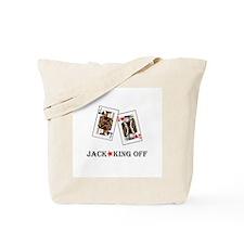 Jack-King Off Tote Bag