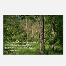 The Road Not Taken Postcards (Package of 8)